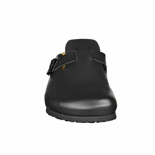 Pictures of JOE N JOYCE Slippers Clogs Shoes Leatherette Regular - Mens and Womens Black 43 EU 3