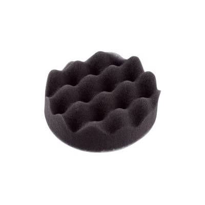 "Sunex SUN3BLKSFTPAD Black 3"" Hook and Loop Polishing Pad: Automotive"