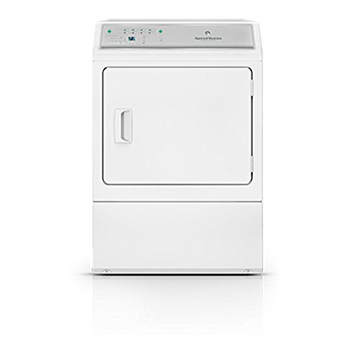 Speed Queen ADEE9BGS173TW Electric Dryer, White