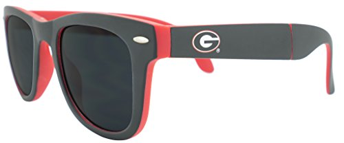 s Game Day Sunglasses with Microfiber Carrying Case/Pouch - Fully Folding (Michigan Wolverines Sunglasses)