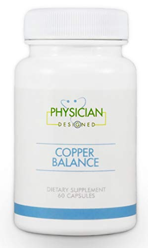 Copper Balance | Fibromyalgia and Heavy Metal Toxicity Support | 60 Capsules | Optimize Metallothionein Function, Nerve Pain, Fibromyalgia Fog, Tender Points, and Fibrositis Pain