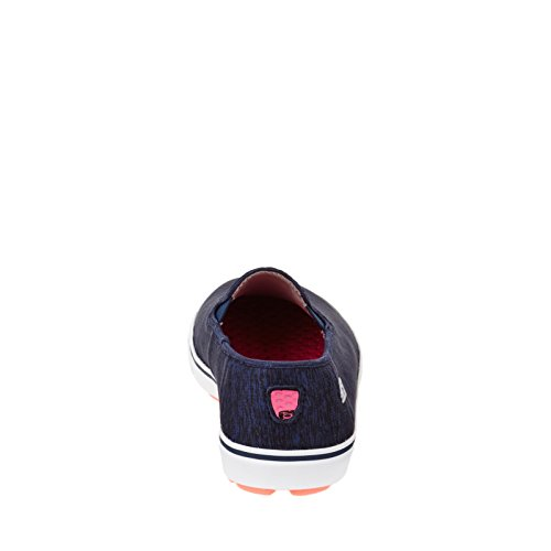 Skechers Go Vulc Laguna Donna Slip On Sneakers Navy / Bianco