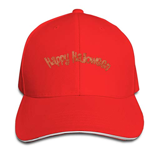 Happy Halloween Vintage Adjustable Jean Cap Gym Caps for Adult -