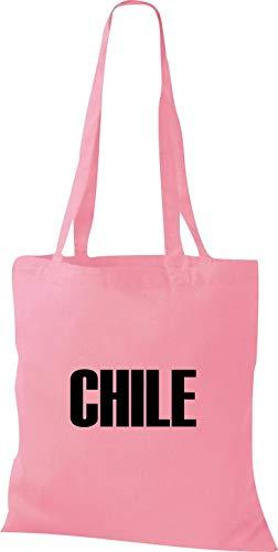 Shirtstown Land De Fútbol Tela Países Classicpink Yute Bolsa Chile PRPvTq