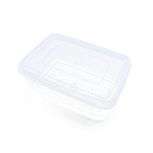10 PCS Clear Beads Tackle Box Arts Crafts Tackle Storage Plastic Boxes Organizers Containers Case XX001 by YUANLAI BOX