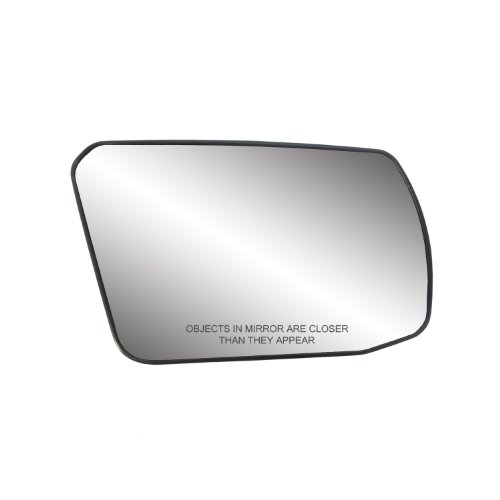 (Fit System 80214 Nissan Altima 2.5L Engine Coupe/Sedan Right Side Power Non-Foldaway Replacement Mirror Glass with Backing)