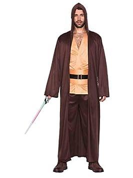 DISBACANAL Disfraz Jedi Star Wars - Único, XL: Amazon.es ...