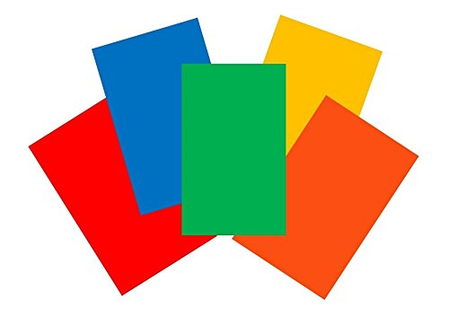House of Card & Paper A4 220 gsm Card - Assorted Bright (Pack of 50 Sheets) HCP14