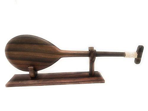 TikiMaster Ebony paddle w/T 20