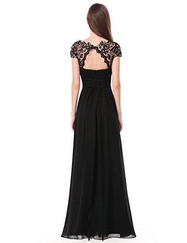 Ever-Pretty HE09993NB12 - Vestido para mujer Negro