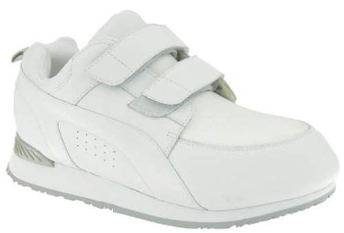 - Pedors Stretch Walker Touch Closure Diabetic Shoes,White Neoprene,12.5 XXW