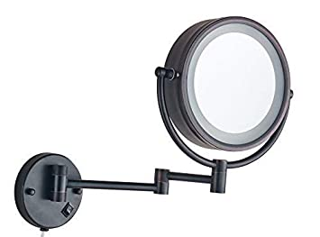 Amazon Com Cavoli Wall Mounted Makeup Mirror With Led Lighted Oil