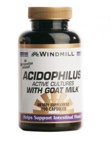 Acidophilus W/goat Milk Caps 100