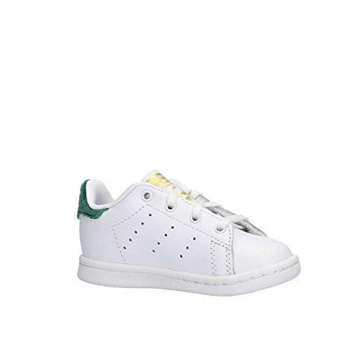 i Ftwbla adidas Smith Bimbi Bianco Unisex Ftwbla Veruni Stan Sneaker qqvnx0E