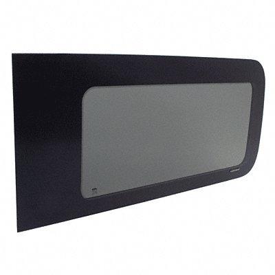 CRL 2012+ Nissan NV 'All-Glass' Look Fixed Glass Passenger's Side Sliding Door