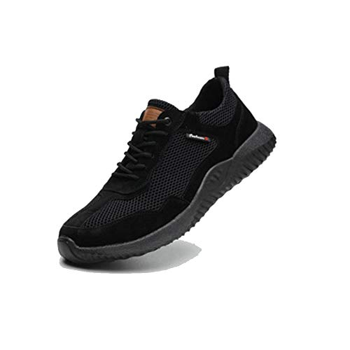 CVAYU Safety Shoes for Men,Work Breathable