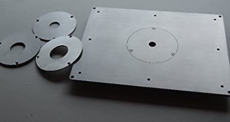 Router table insert plate stainless steel amazon diy tools router table insert plate stainless steel greentooth Gallery