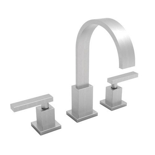 Newport Brass 2040/15S Secant Widespread Bathroom Faucet with Double Handles Finish, Satin Nickel