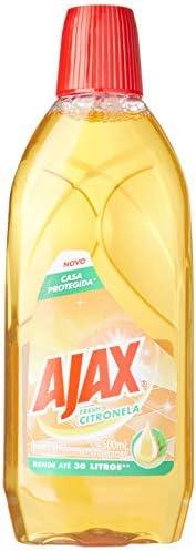 Limpador Diluivel Ajax Fresh Citronela 500Ml, Ajax, 500Ml