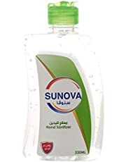 Sunova Hand Sanitizer Gel, 330 ml