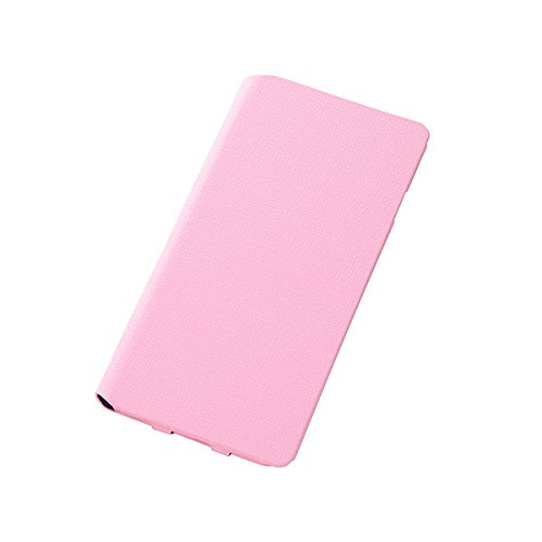Colorful Slim Leather Style Case for iPhone 6 Plus (Pale Pink)