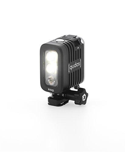 Knog [qudos] ACTION Video Light for GoPro, Black
