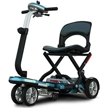 Amazon.com: Lexis Light Folding Travel Scooter BLUE : Health ...
