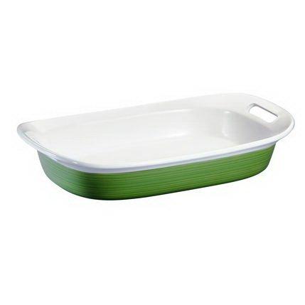- Corningware Etch 3-Quart Oblong Baking Dish, Green