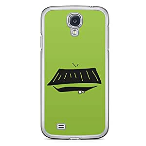 Smiley Samsung Galaxy S4 Transparent Edge Case - Design 12