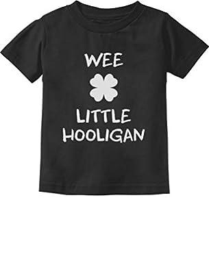 Funny St. Patrick's Day Cute Wee Little Hooligan Irish Toddler Kids T-Shirt