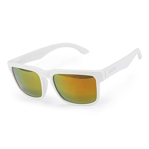ODODOS - Vintage Style Polarized Revo Color Wayfarer Sunglasses - UV400 - Wayfarer Revo