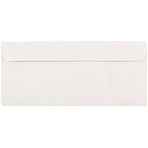 - JAM PAPER #9 Commercial Envelopes - 3 7/8 x 8 7/8 - White - 50/Pack