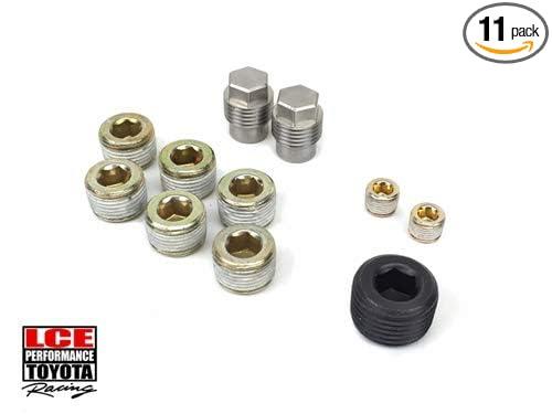 Intake Manifold Plug Kit Carbureted 20R//22R LC Engineering 1032050