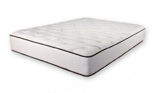 Dreamfoam Bedding Ultimate Dreams Latex Mattress - Queen Size - Custom Comfort
