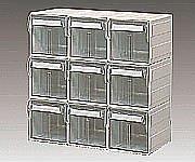 3-275-04 HA5小型引出セット HA5-S031 372×192×372mm '3663 B06VW8T7VX 13000
