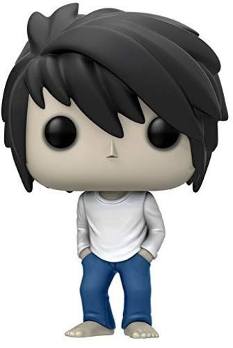 Funko POP Anime Death Note L Action Figure (Best Anime Like Death Note)