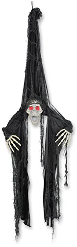 Ghoul Costume Ideas (Beistle Flying Ghoul Creepy Creature, 3-Feet 11-Inch)