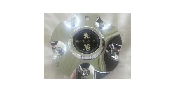 Sarus Wheels BC-735-AL Chrome Wheel Center Cap