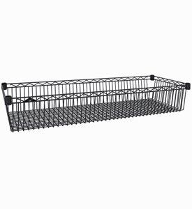 Intermetro Storage Basket (InterMETRO 18-Inch by 48-Inch Basket Shelf)