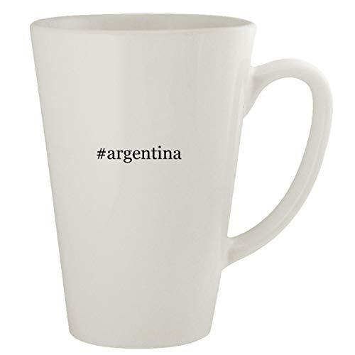 #argentina - Ceramic 17oz Latte Coffee Mug (Travel With Mug Coffee Messi)