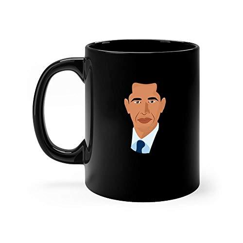 Barack Obama funny 2019,political humor,tops &,elections day 2019,Michelle Obama,Obama vs Republican,funny clothing,humor Mug 11oz Coffee Mug 11oz Ceramic Tea Cups 11 Ounce Coffee -