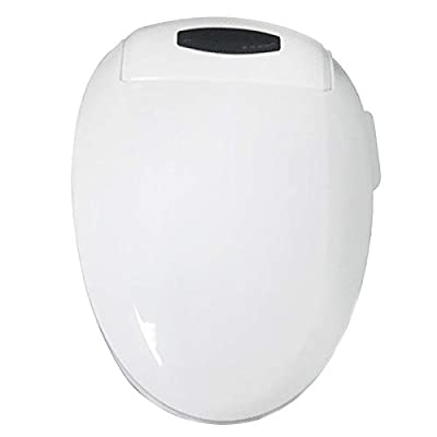 Intelligent Toilet Cover Home Remote Control Body Cleaner Cover Smart Toilet Automatic Flushing Automatic Heating Toilet seat Wireless Remote Control Human Body Sensing seat Heating Toilet seat White