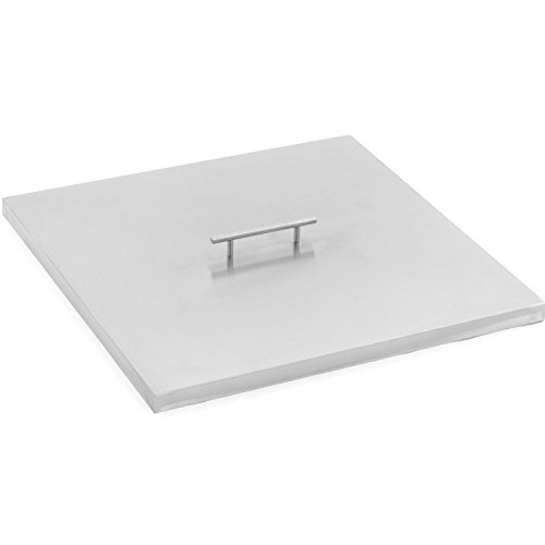 Lakeview Outdoor Designs 21-inch Stainless Steel Burner Lid - Fits 18-inch Square Fire Pit Pan