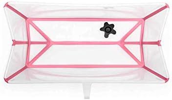 Stokke/® Flexi Bath/® transparent and pink