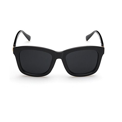 Mujeres Hombres Gafas frame Gafas Color Para Solar Montura black Bright Y Grande Retro De Frosted De frame Sol Hombre HONEY Protección Zpgq7vTv