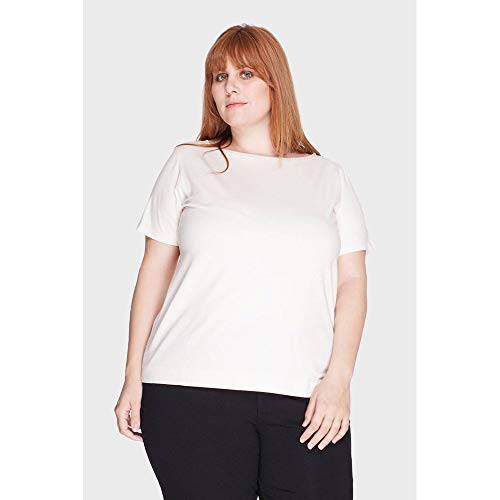Blusa Marcela Plus Size Off White-46/48