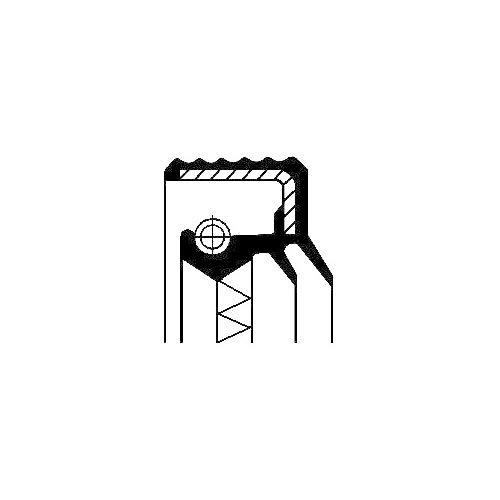Corteco 12017270B Anillo reté n, engranaje distribuidor