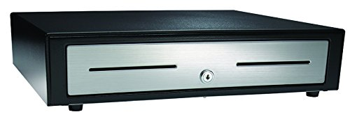 APG VBS320-BL1616 Vasario Series Standard-Duty Stainless-Steel-Front Cash Drawer with MultiPRO 320 Interface, 24V, 16.2'' x 4.3'' x 16.3'', Black by APG (Image #2)