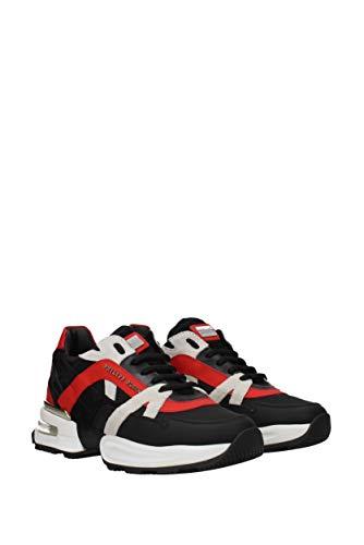 Eu Runner Hombre Philipp Negro msc1660ple008n Piel Plein Sneakers Ftwxqd8YnY