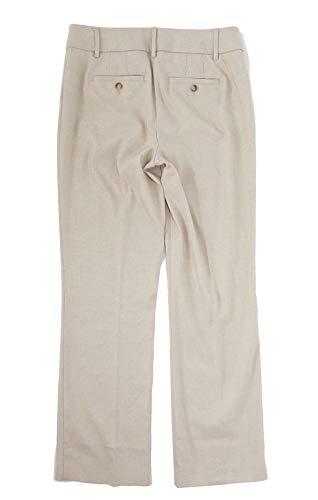 LOFT - Women's - Tweed Textured Julie Fit Trouser Pants (2, Stone)